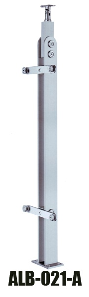 glass handrail post ALB-021-A
