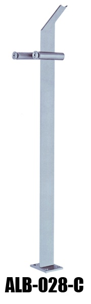 glass handrail post ALB-028-C