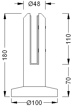 Glass-Fence-Spigot-R12-Dimension