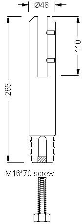 glass-fence-spigot-R3-dimension