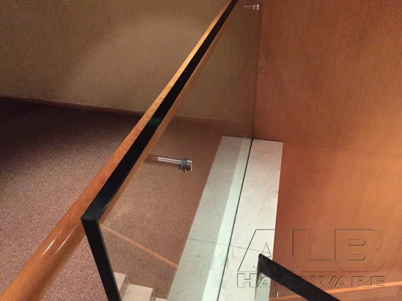 Stainless steel handrail bracket for 5-star hotel 1907