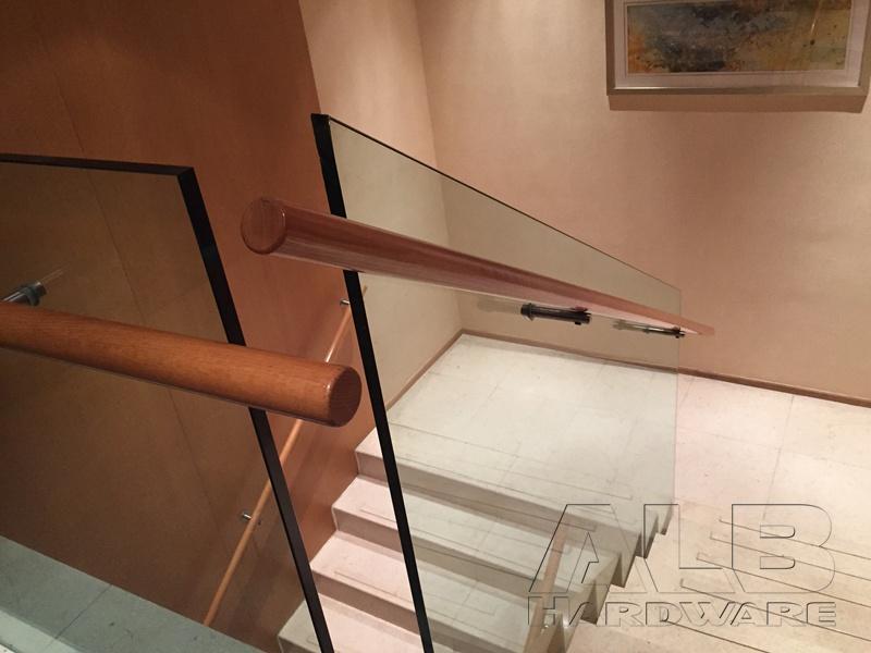 Stainless steel handrail bracket for 5-star hotel 1908