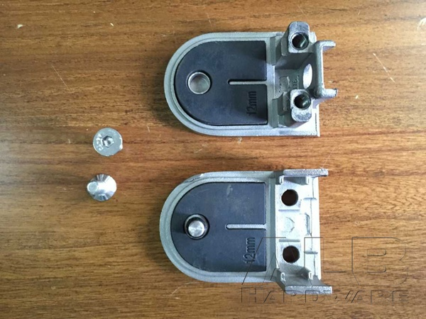stainless steel glass railing clamp E10-2