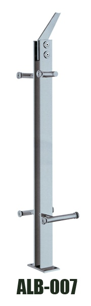 glass handrail post ALB-007