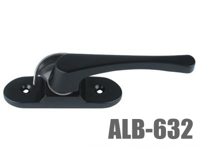 632 aluminum door or window crescent lock